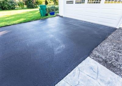 Smooth Bundaberg Concreters asphalt in a driveway